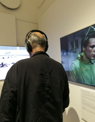 Die Rückkehr des Pre Bell Man Nam June Paik Ausstellung Museum für Kommunikation Frankfurt Foto Stefanie Kösling
