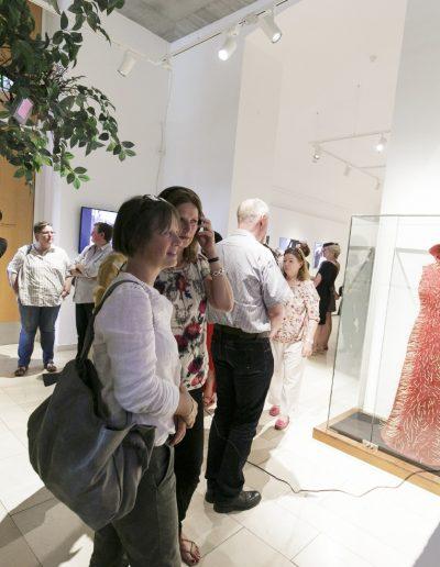 MKF-Nam Die Rückkehr des Pre Bell Man Nam June Paik Ausstellung Museum für Kommunikation Frankfurt Foto Stefanie Koesling Paik Eröffnung Pre Bell Man 05.06.19