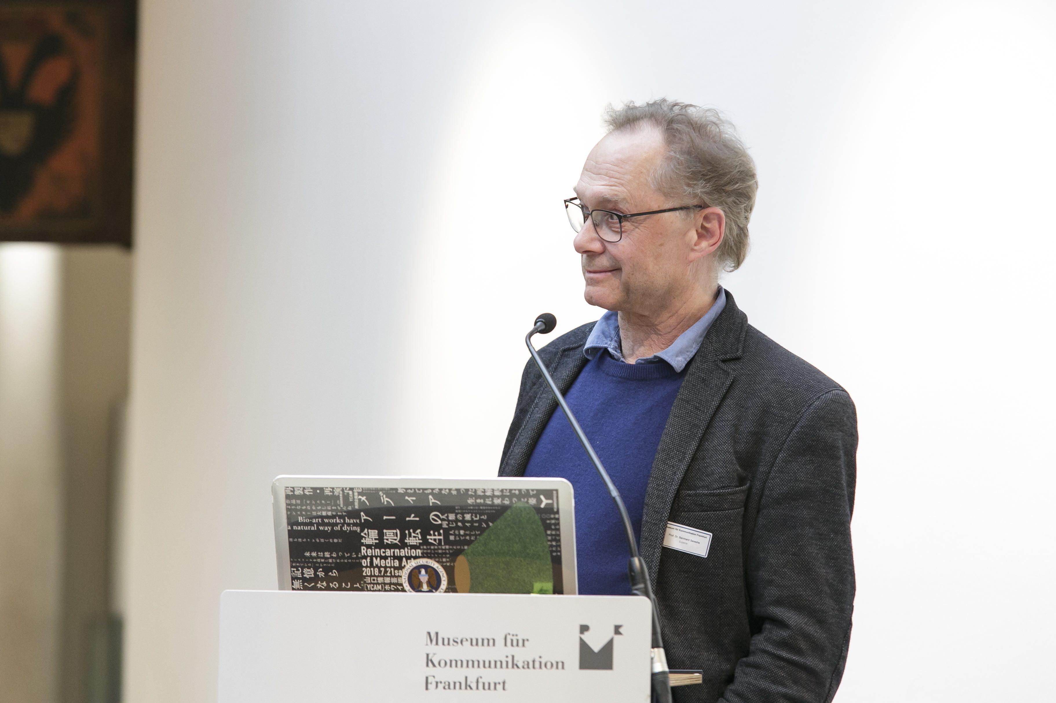 Pre Bell Man Tagung Restaurierung Medienkunst Nam June Paik Museum für Kommunikation Frankfurt